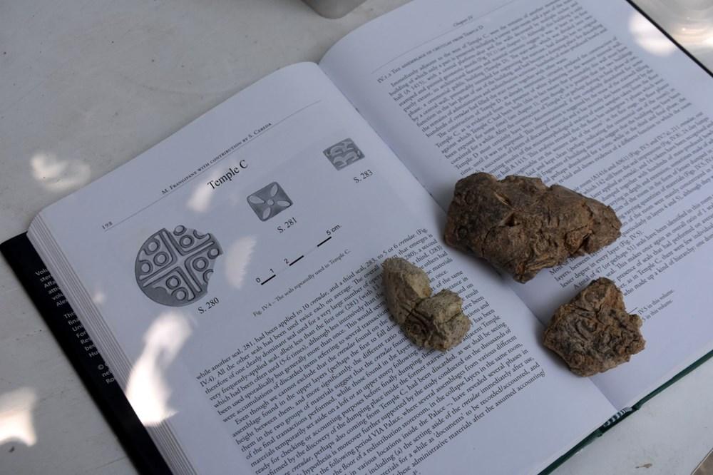 Malatya Arslantepe'de 5 bin 621 yıllık 250 mühür bulundu - 2