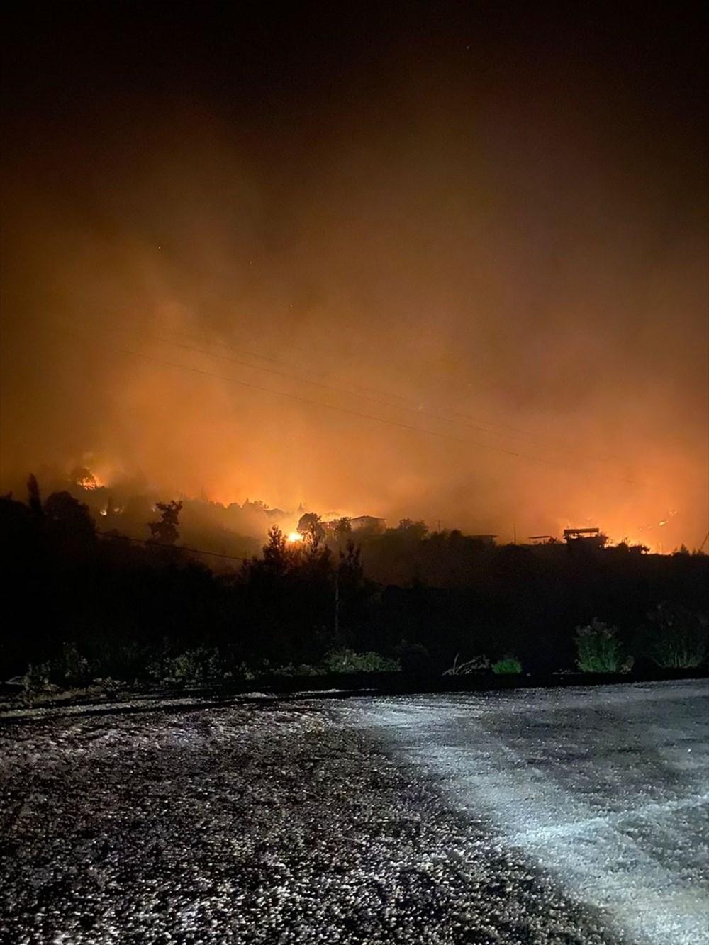 Antalya, Adana, Mersin, Aydın, Muğla, Osmaniye, Kayseri ve Manisa'da orman yangınları - 46