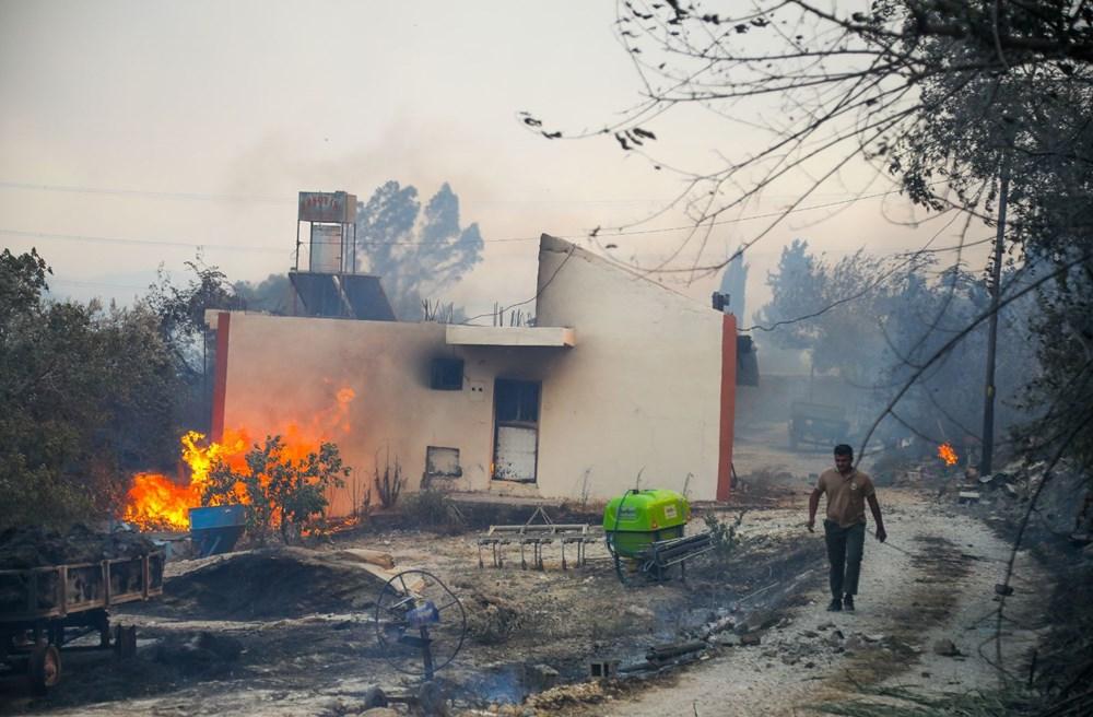 Manavgat'taki yangın evleri kül etti - 9