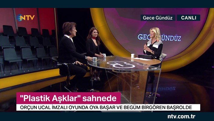 """""""Plastik Aşklar"""" oyuncuları Gece Gündüz'de (6 Aralık 2019)"""