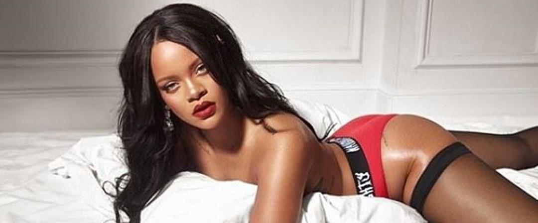 Rihanna iç çamaşırı koleksiyonuna modellik yaptı - Magazin