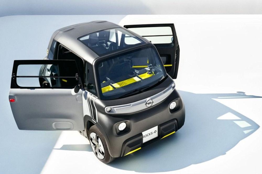 Opel'den elektrikli şehir aracı: Rocks-e - 3