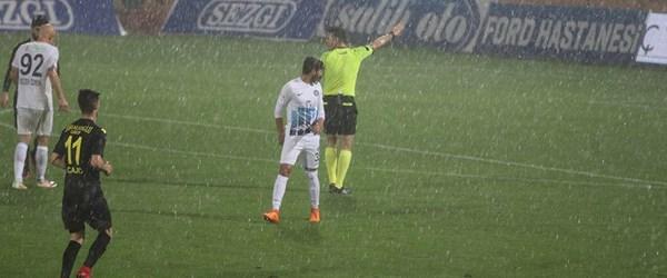 Adana Demirspor-İstanbulspor maçına dolu engeli