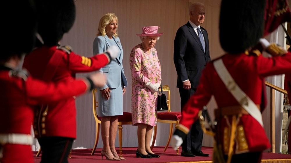 ABD Başkanı Biden, İngiltere Kraliçesi Elizabeth ile buluştu - 2