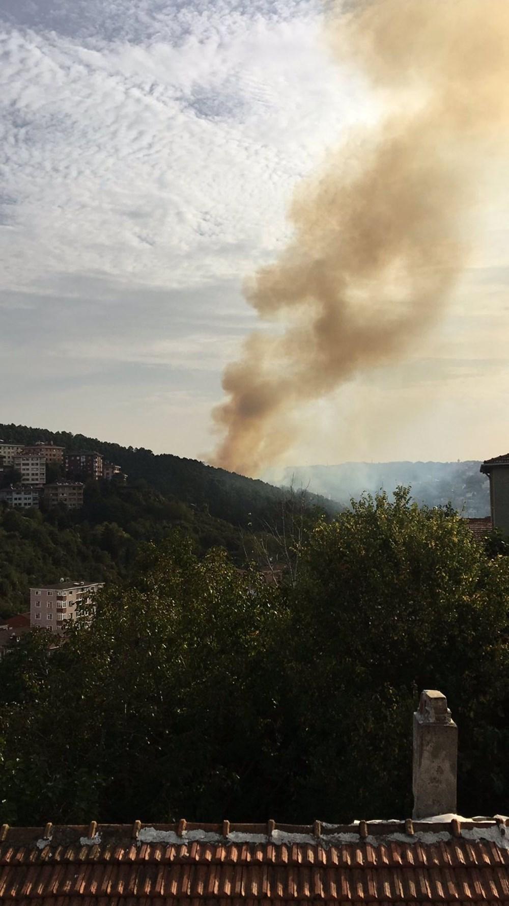 Son Dakika: Anadolu Hisarı'nda orman yangını - 2