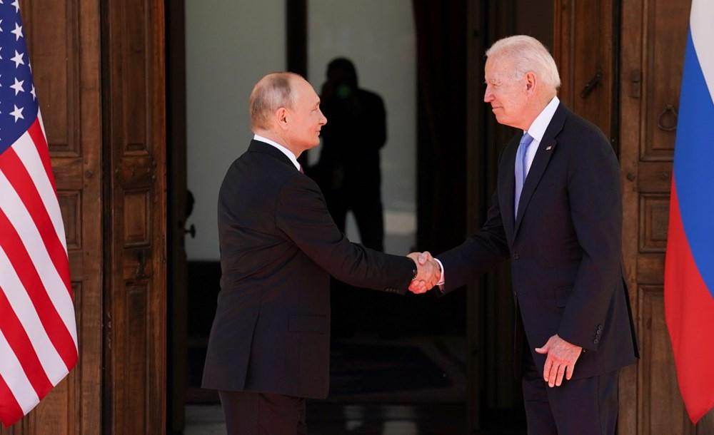 ABD Başkanı Biden ve Rus Devlet Başkanı Putin'in görüşmesi başladı: Zirveden kareler - 9
