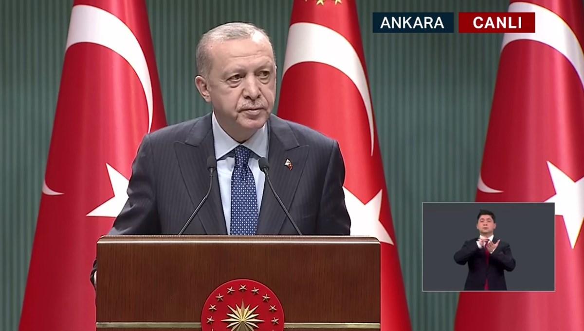 Cumhurbaşkanı Erdoğan normalleşme kararlarını açıklıyor (CANLI)