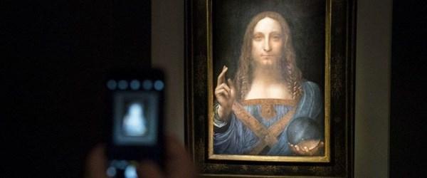 Dünyanın en pahalı tablosu Salvator Mundi Suudi prensin yatında bulundu