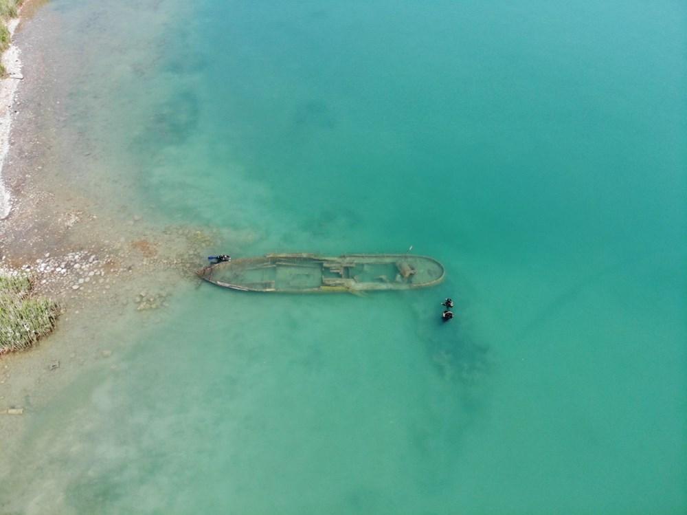 Bir batık gemi daha gün yüzüne çıkartıldı - 5
