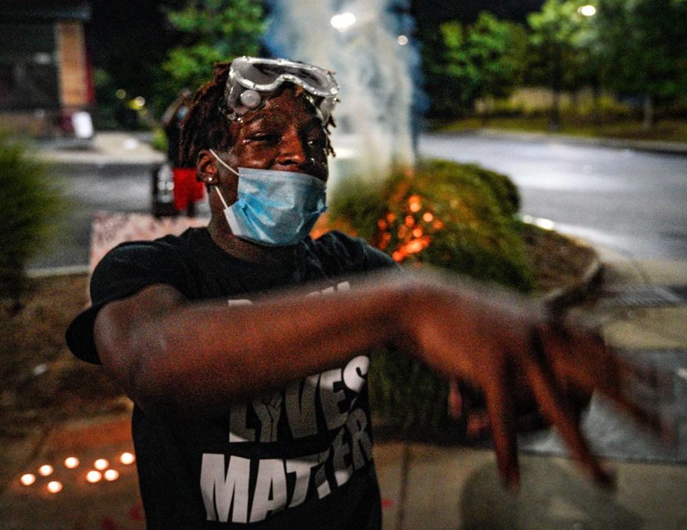 ABD'de yine polis şiddeti (Atlanta kenti karıştı) - 8