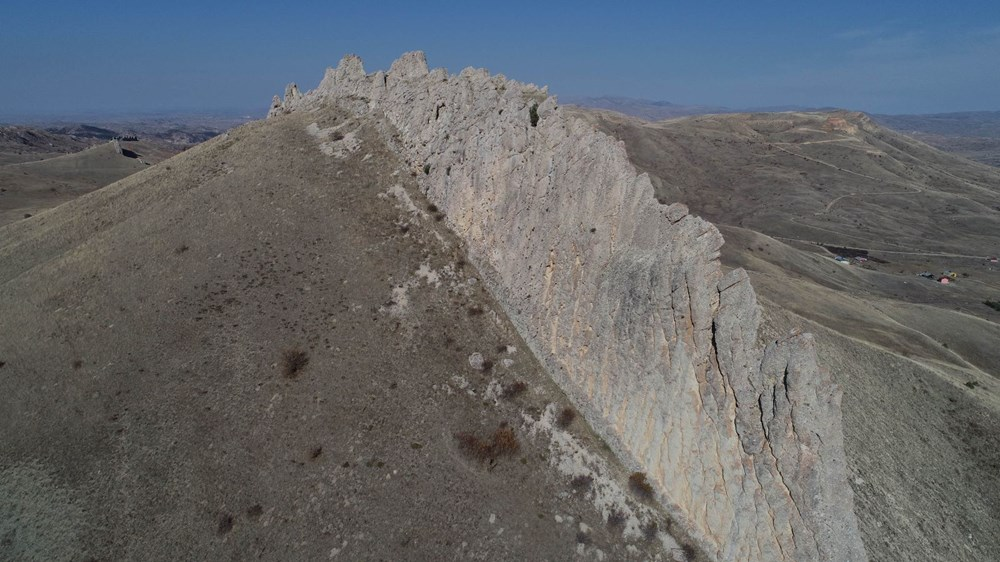 This is Sivas, not China!  It's called the 'Natural Great Wall of China' - 10