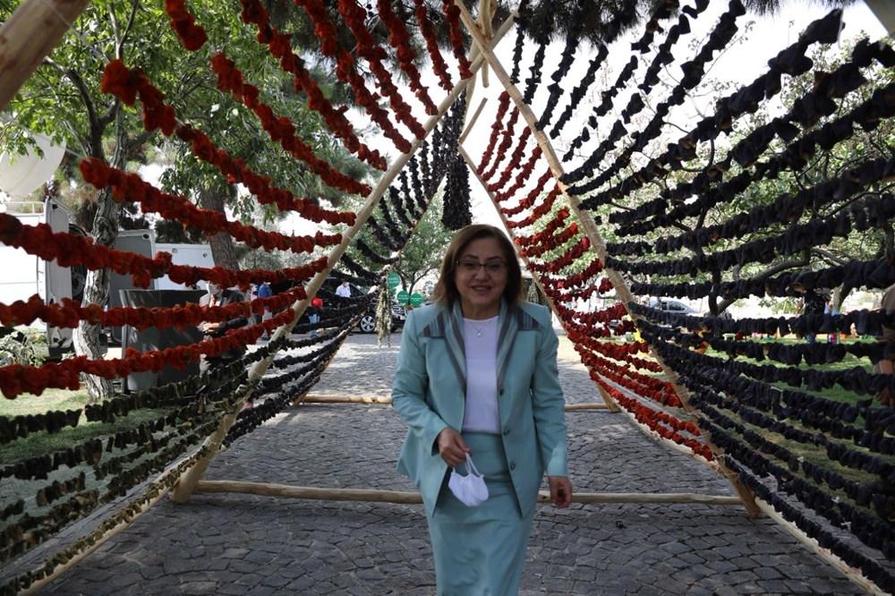 GastroAntep Festivali, fıstık hasadı ve şire yapımı ile başladı - 11
