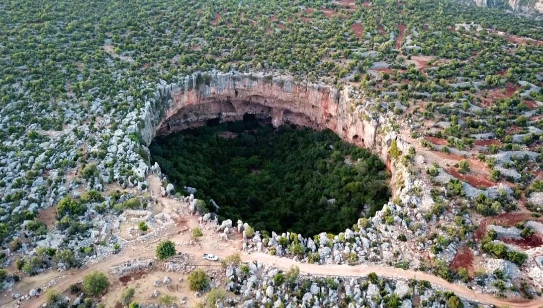 Aşağı Dünya Akhayat Obruğu'nun turizme kazandırılması isteniyor