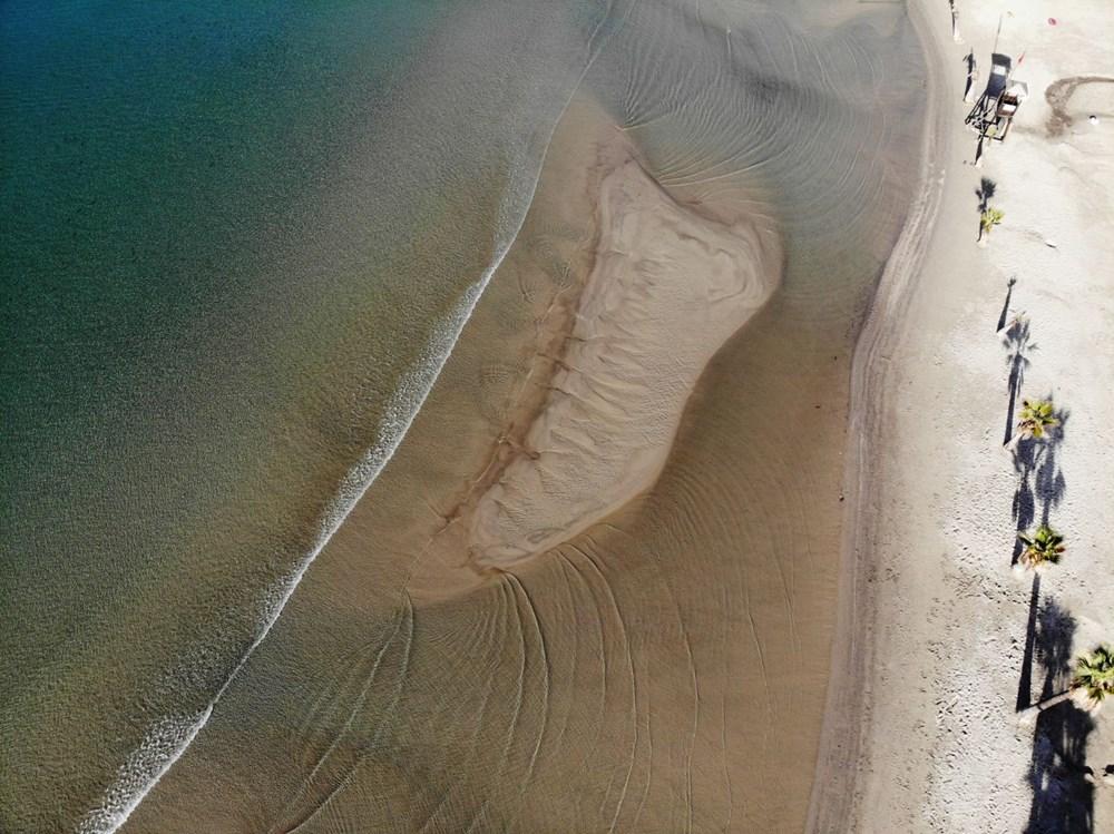 Muğla'da deniz 20 metre çekildi - 11