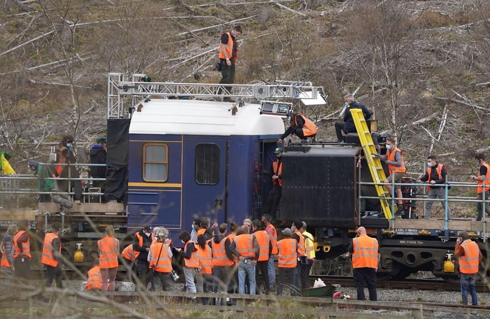 Görevimiz Tehlike 7 (Mission: Impossible 7) filminde tren sahnesi böyle çekildi - 12