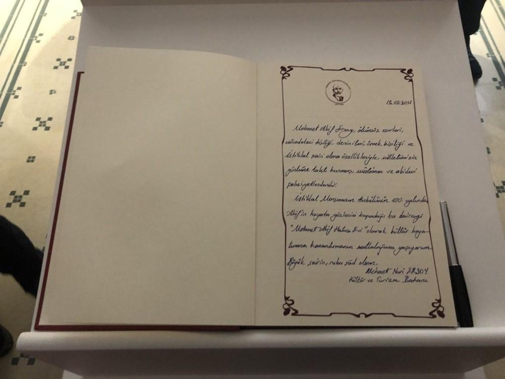 Mehmet Akif Ersoy Hatıra Evi açıldı - 5