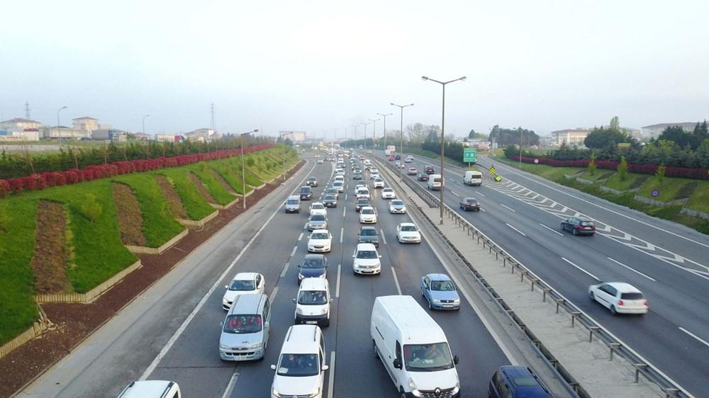 İstanbul'da, 'tam kapanma' öncesinde kaçış trafiği - 13