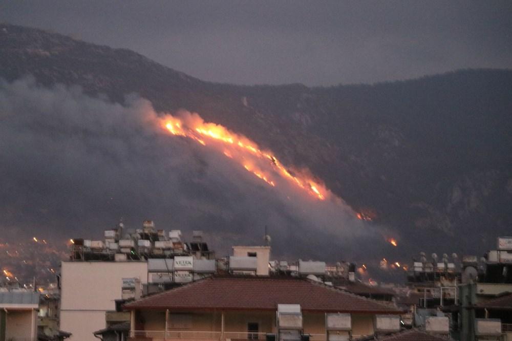 Hatay'da 2 orman yangını - 3