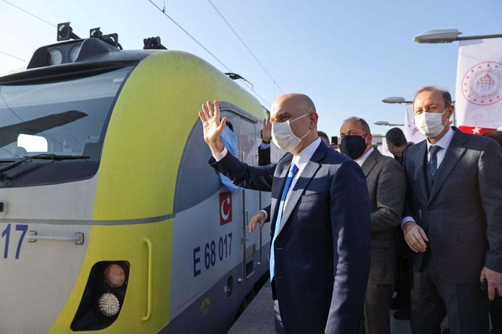 Türkiye'den Çin'e gidecek ilk ihracat treni İstanbul'dan uğurlandı - 8
