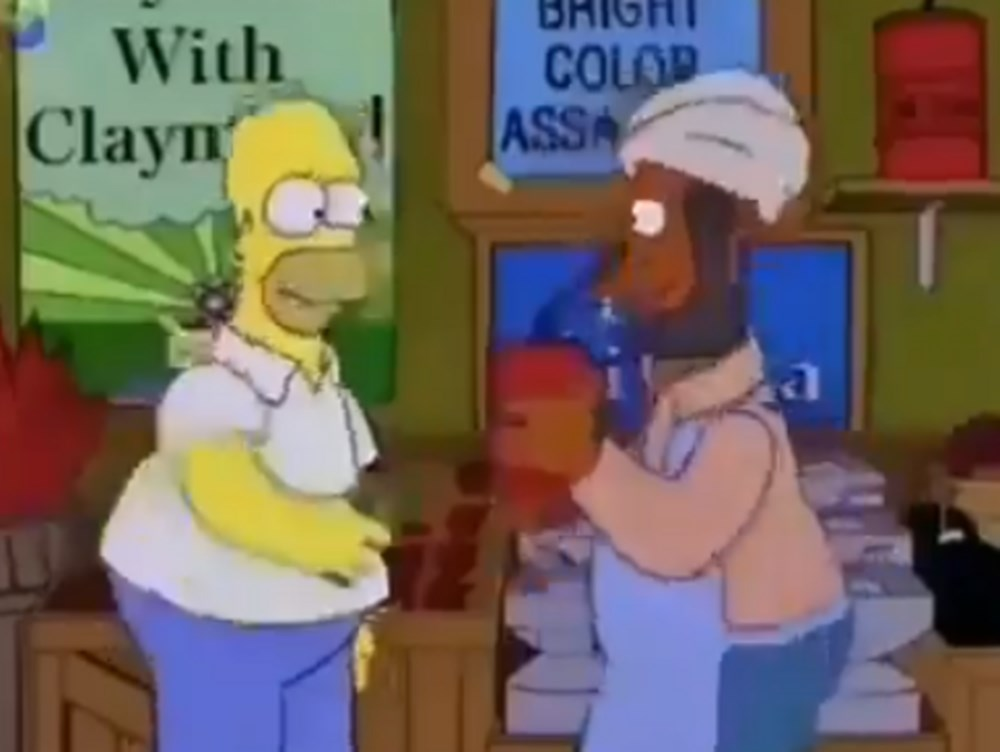 Simpsonlar'ın (The Simpsons) kehaneti yine tuttu: ABD'de Kongre Binası işgali - 7