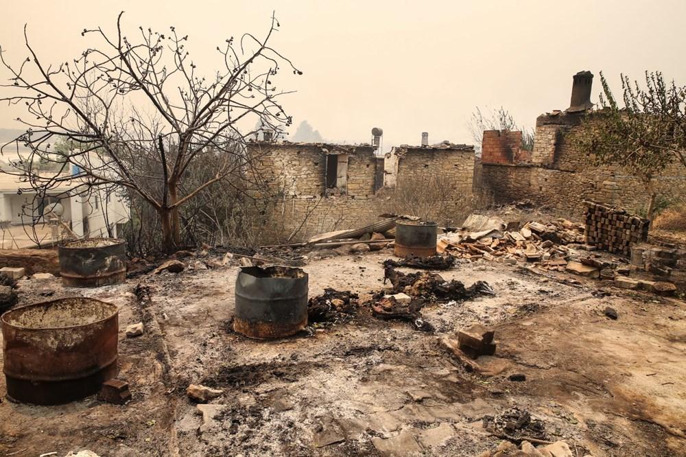 Antalya Manavgat'ta yangın: 3 ölü - 3