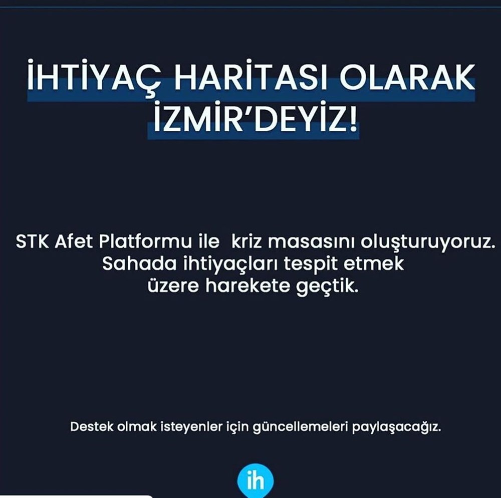 Ünlü isimlerden İzmir'e destek mesajları - 12