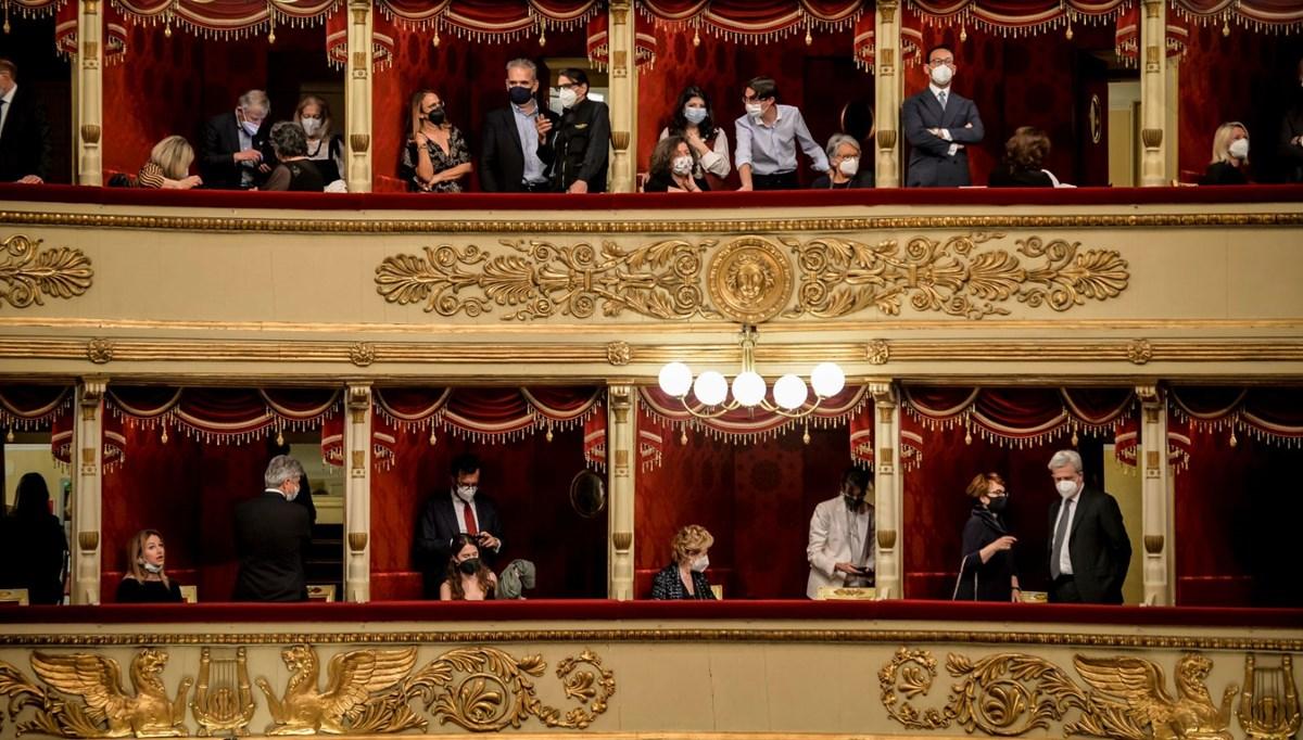 La Scala Operası'nda yeni normal