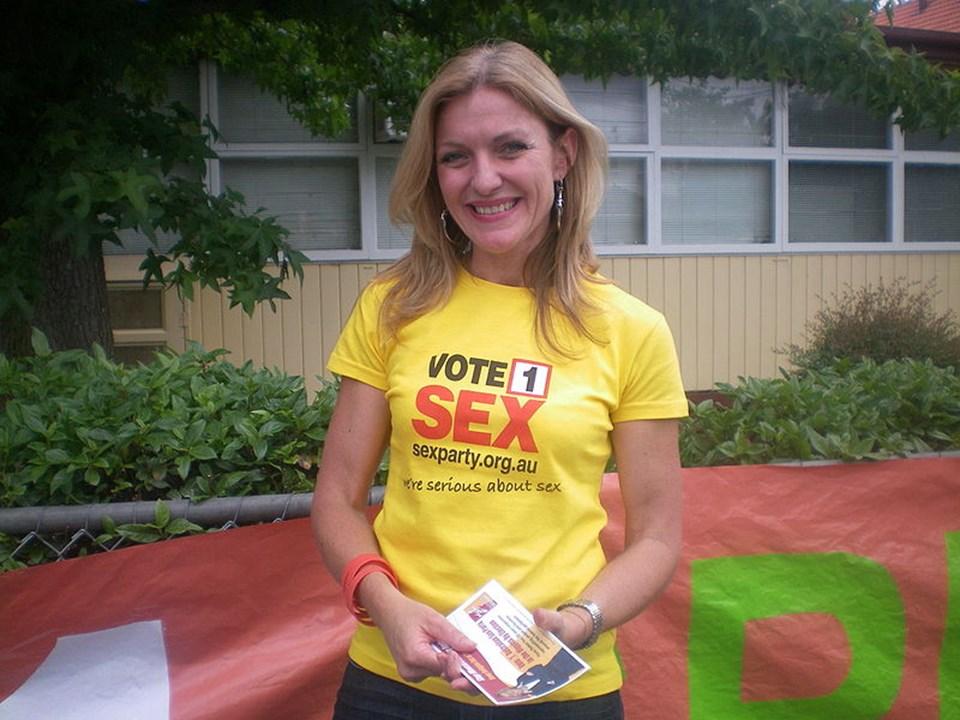 Seks Partisi'nin lideri Fiona Patten.