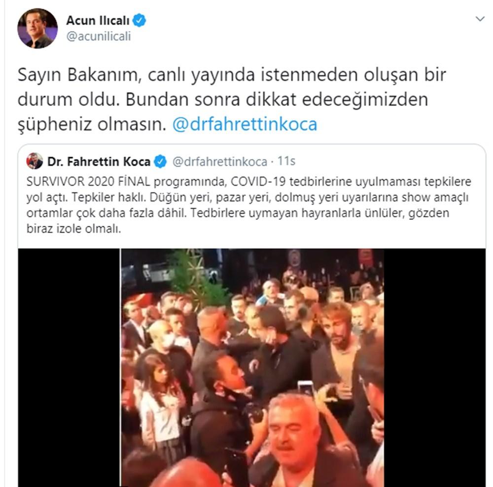 Sağlık Bakanı Fahrettin Koca'nın uyarısına Acun Ilıcalı'dan yanıt - 4