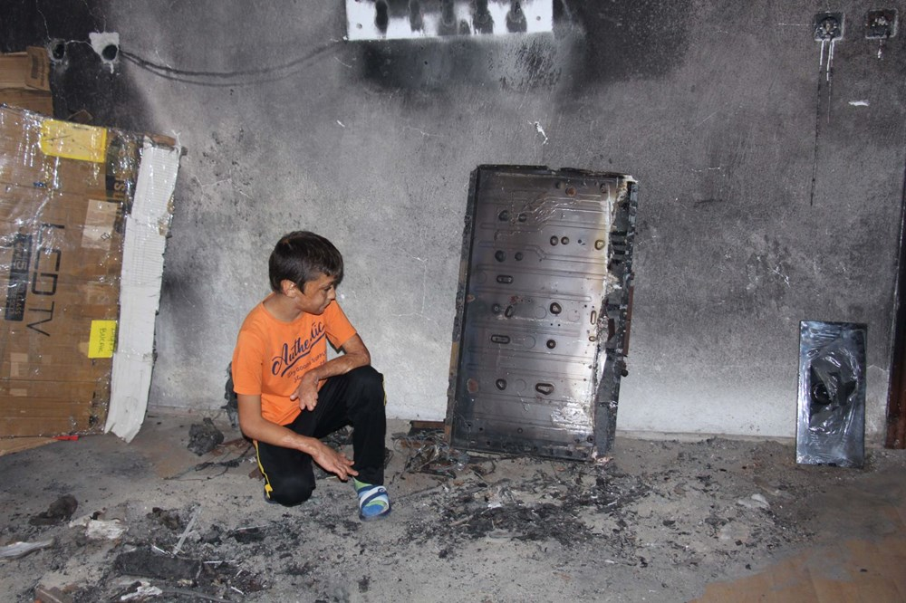 8 yıl önce yanan odayı dava bitmediği için külleriyle kilitli tutuyorlar - 3