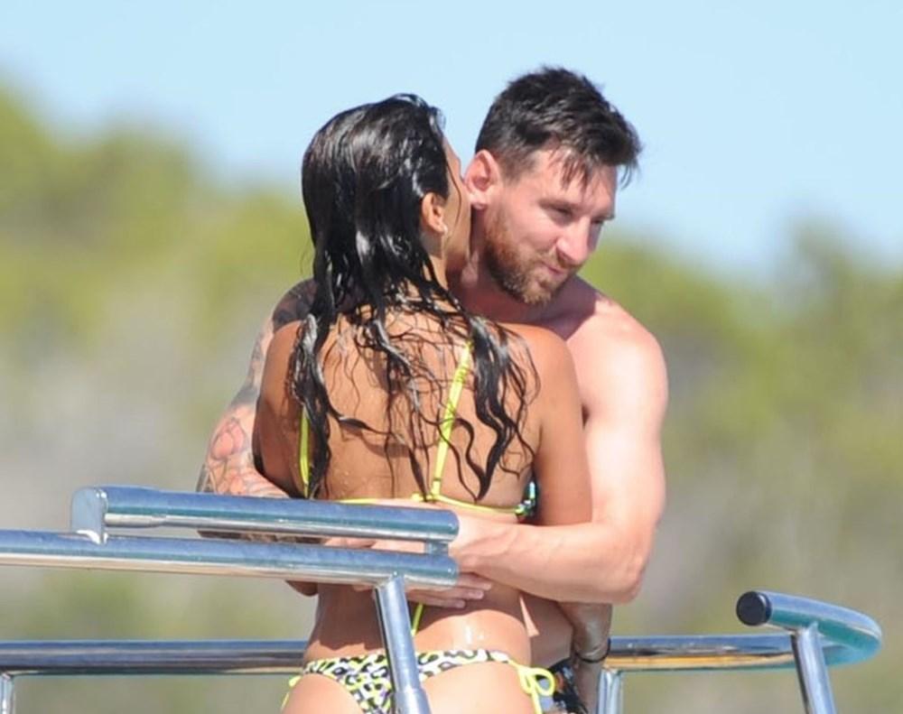 Lionel Messi'nin Ibiza'daki romantik tatili - 7
