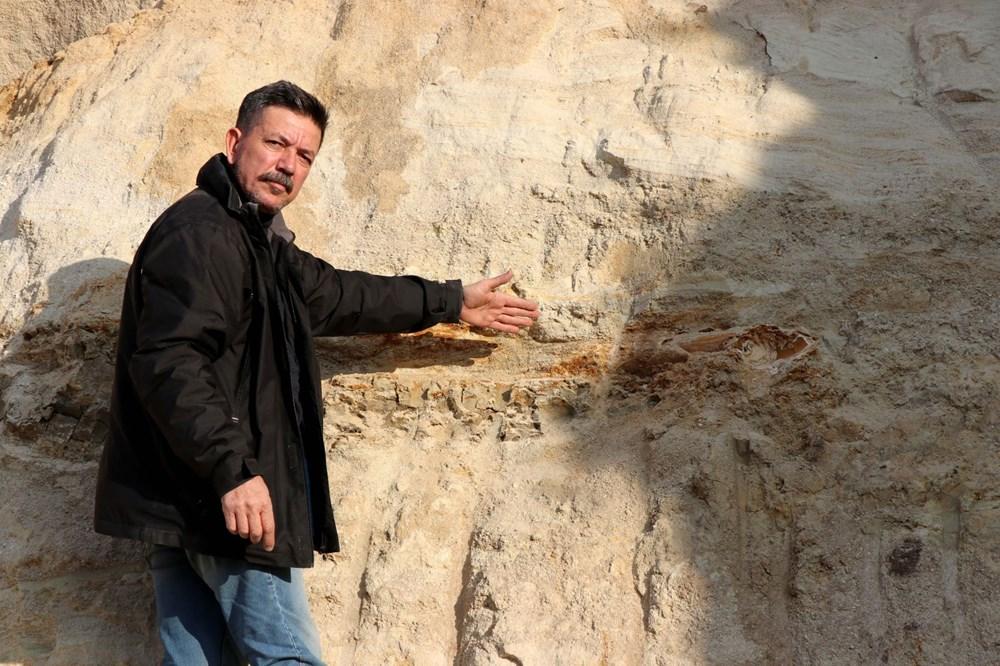 Edirne'de 8 milyon yıllık mamut fosilleri bulundu - 15
