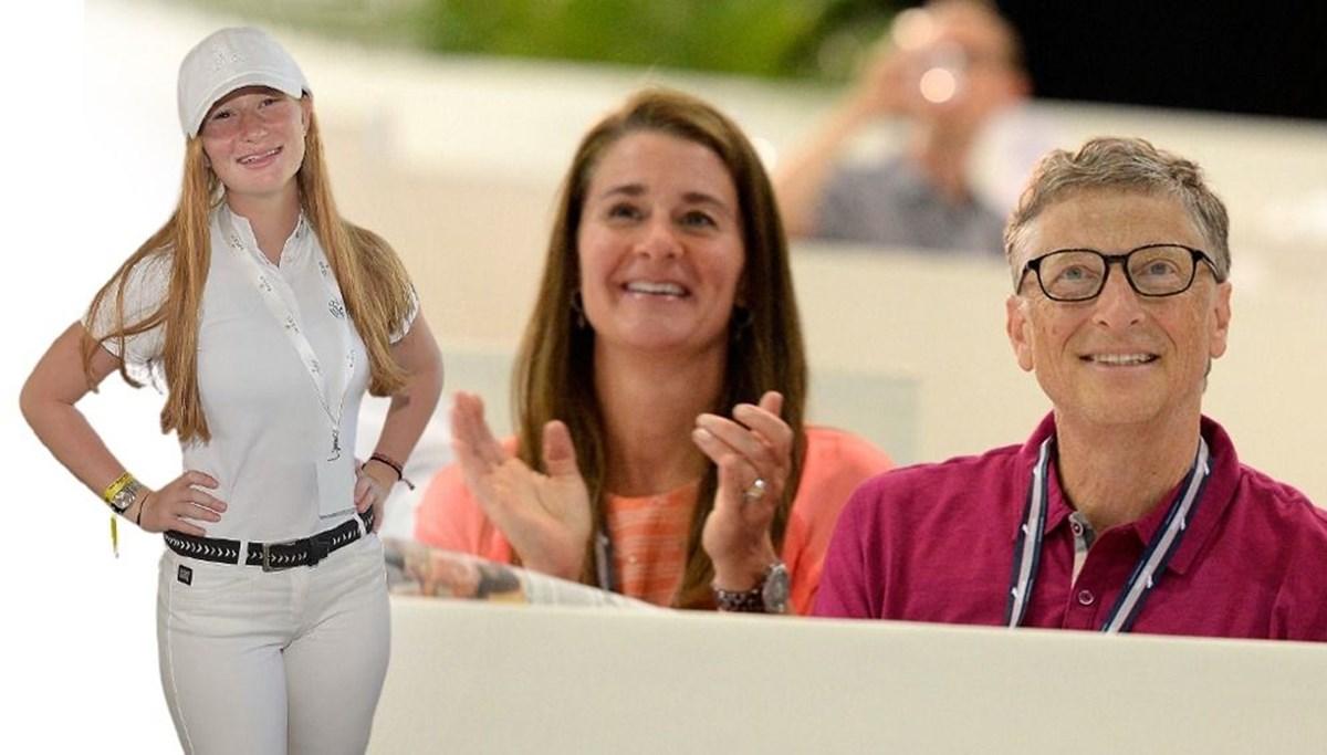 Boşanmada söz sırası Bill Gates ve Melinda Gates'in kızı Jennifer Gates'te