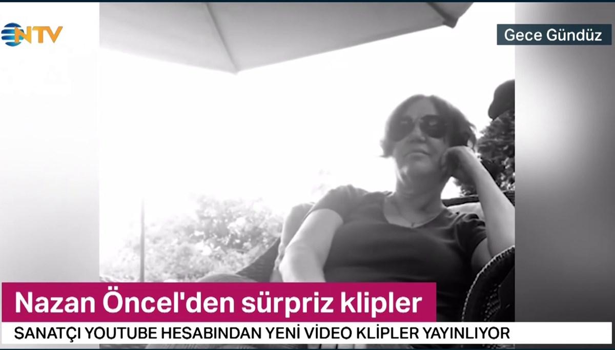 Nazan Öncel'den sürpriz klipler (18 Haziran 2020)