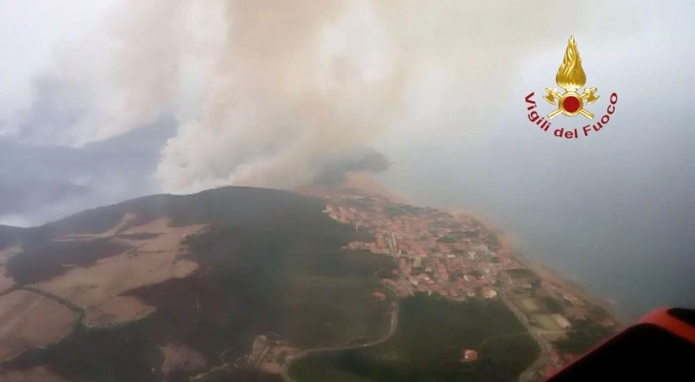 'Benzeri görülmemiş felaket': İtalya Sardunya Adası'nda yangın - 7