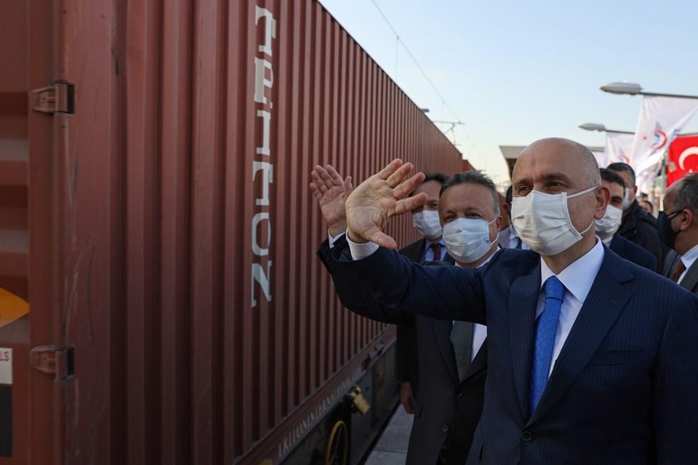 Türkiye'den Çin'e gidecek ilk ihracat treni İstanbul'dan uğurlandı - 12