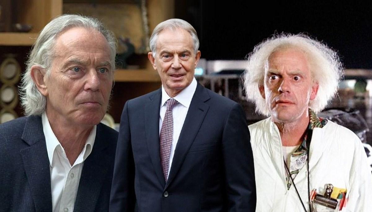 Tony Blair yeni imajıyla gündemde