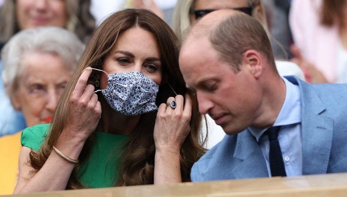Wimbledon'a katılan Kate Middleton'a karantina tepkisi