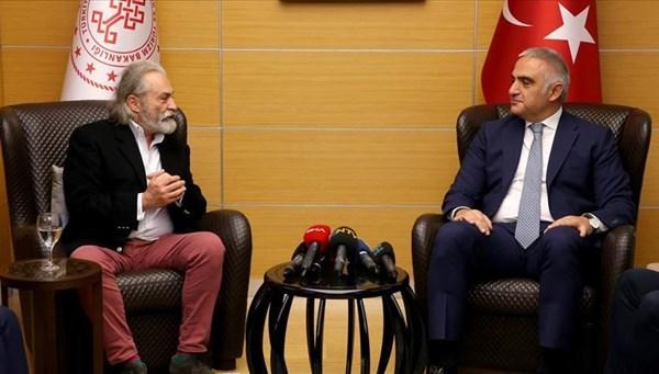Haluk Bilginer: Bu ödülü beklemiyordum (Kültür ve Turizm Bakanı Ersoy ile buluşma)