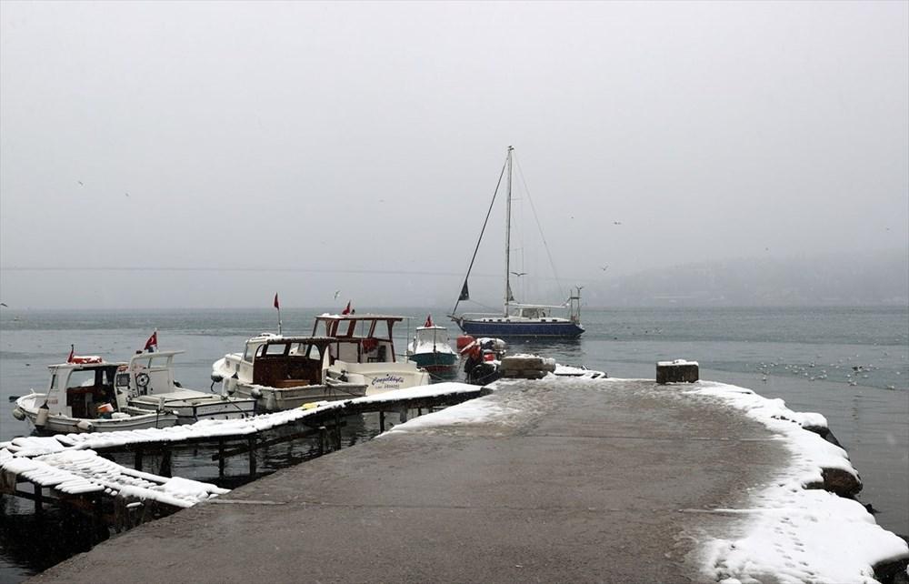 İstanbul'da kar yağışı devam ediyor - 11