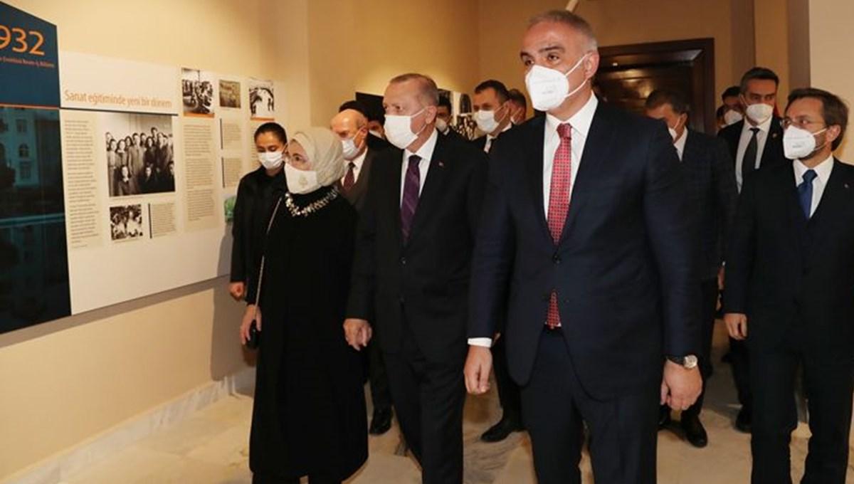Bakan Ersoy: Ankara Resim ve Heykel Müzesi sanatla başlayan ve sanatla devam eden bir yolculuğun simgesidir
