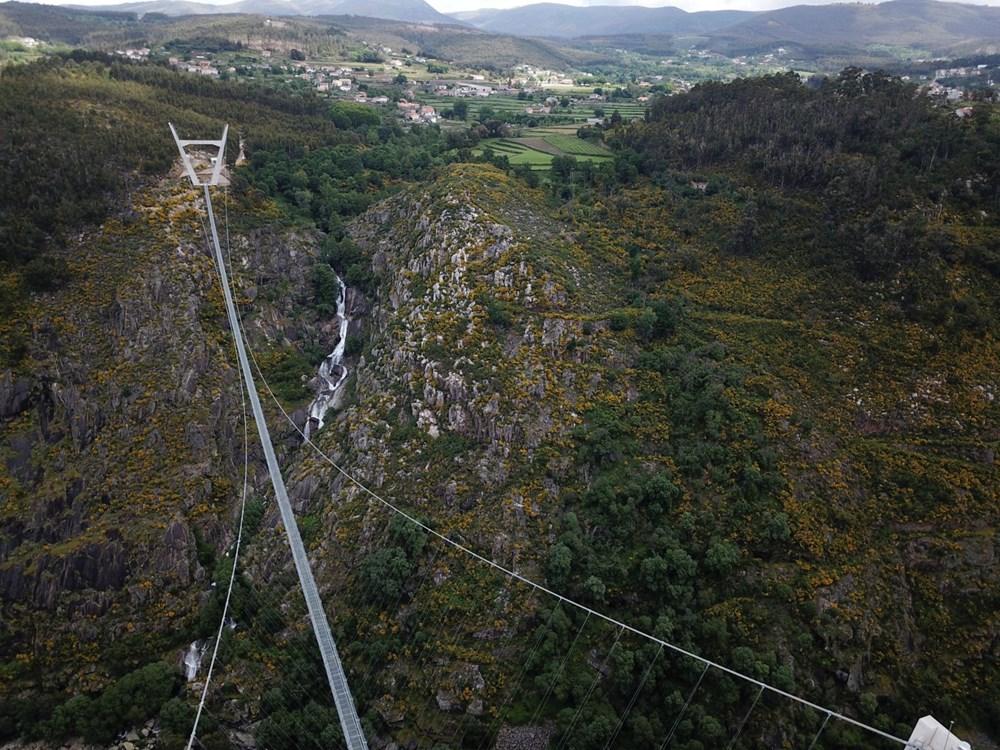 Yayalara özel en uzun asma köprü açıldı - 19