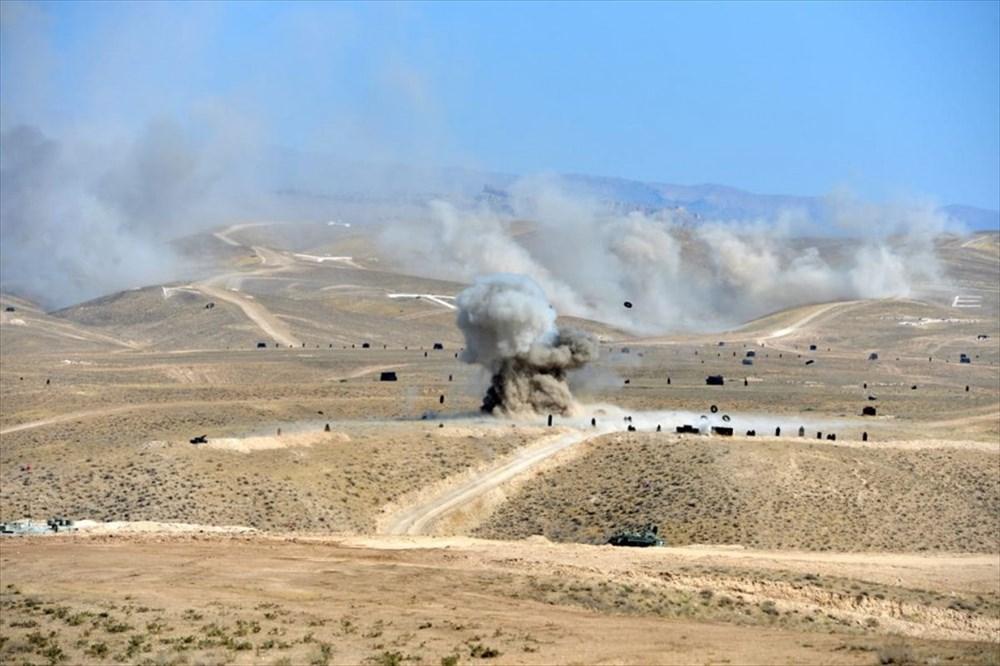 Türkiye ve Azerbaycan'dan savaş sahnelerini aratmayan tatbikat - 2