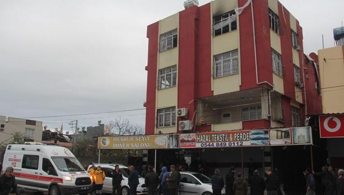 Adana'da 5 aylık bebekyangın kurbanı