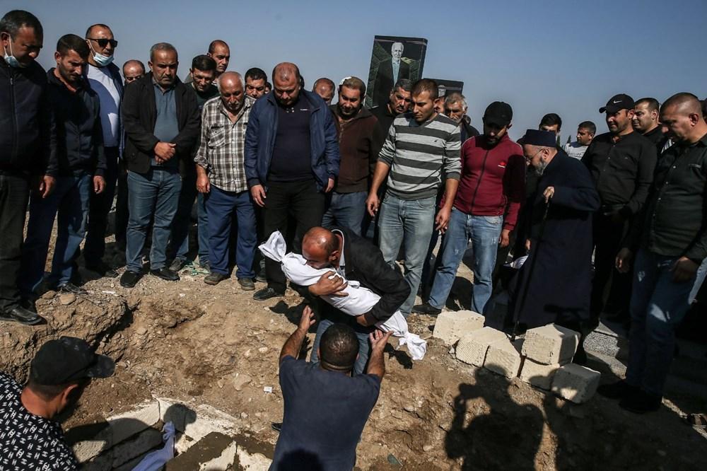 Hain saldırının küçük kurbanları: Cenazede gözyaşları sel oldu - 7