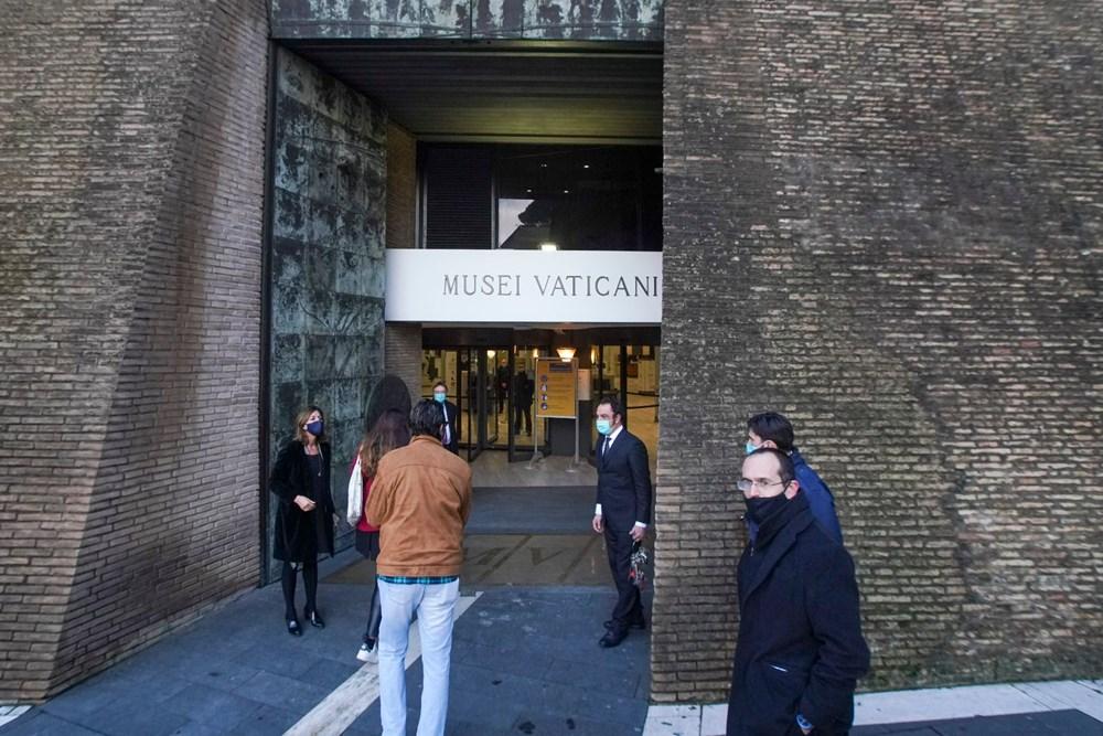 Vatikan Müzesi açıldı - 2