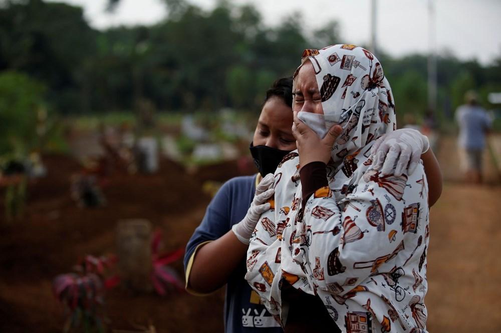 Covid-19 salgınının merkezi Endonezya'ya kaydı: Yeni vakaların sayısı Brezilya ve Hindistan'ı geçti - 9