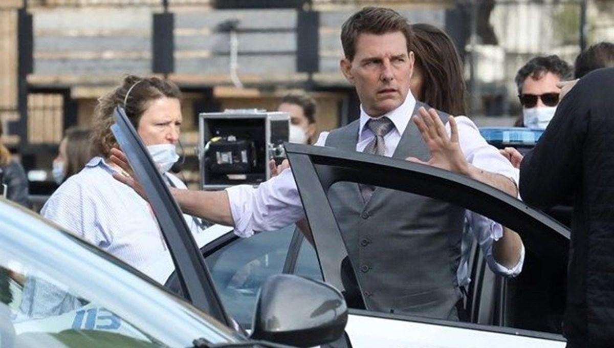 Görevimiz Tehlike 7 seti durduruldu: Tom Cruise corona virüse mi yakalandı?