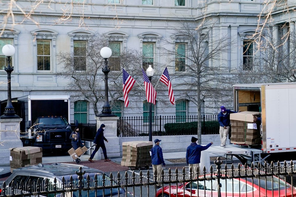Trump Ailesi Beyaz Saray'dan taşınıyor - 11