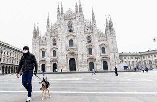 İtalya'nın ünlü sokaklarında corona virüs ıssızlığı